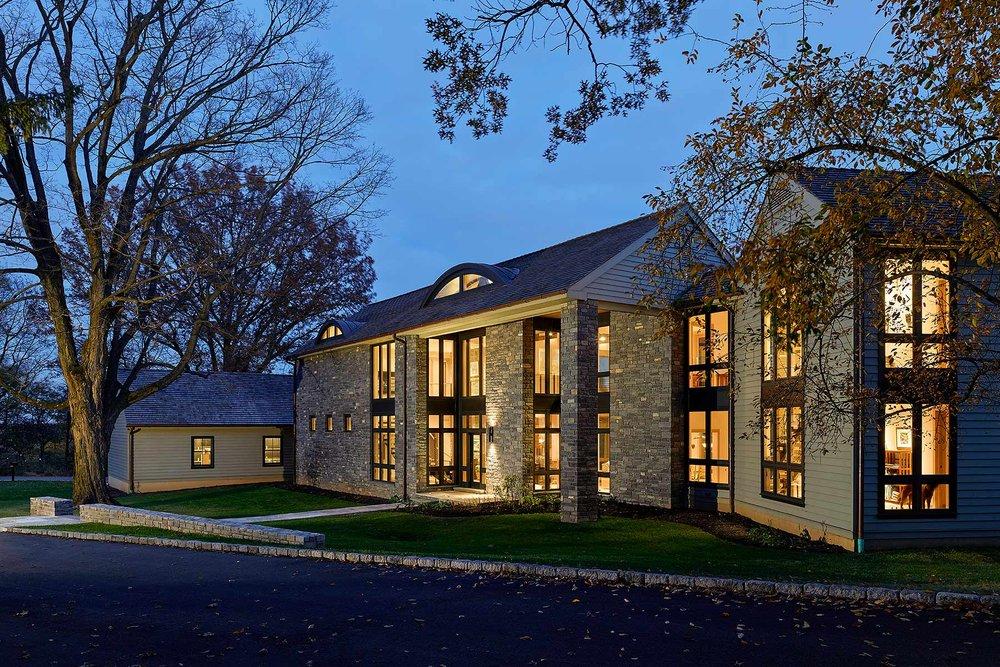 Private Residence Voith & Mactavish Architects Gladwyne,PA