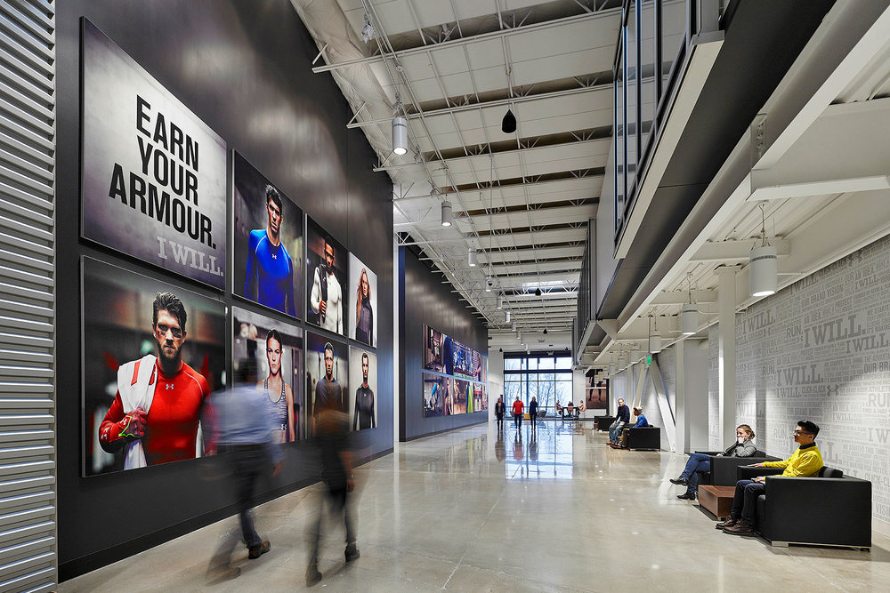 Under Armour Bohlin Cywinski Jackson See More in  Workplace