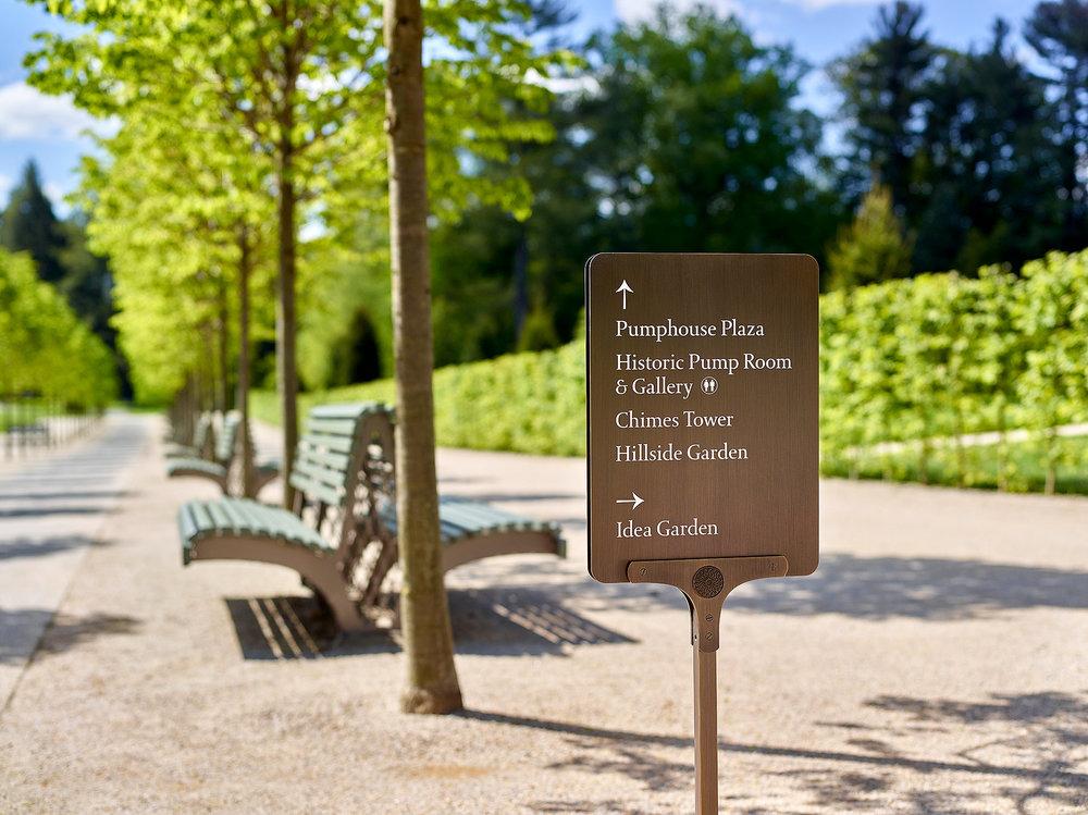 Longwood Gardens Pentagram - Abbott Miller Kennett Square, PA
