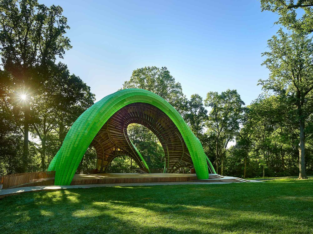 Chrysalis Marc Fornes THEVERYMANY Living Design Lab Arup Columbia, MD
