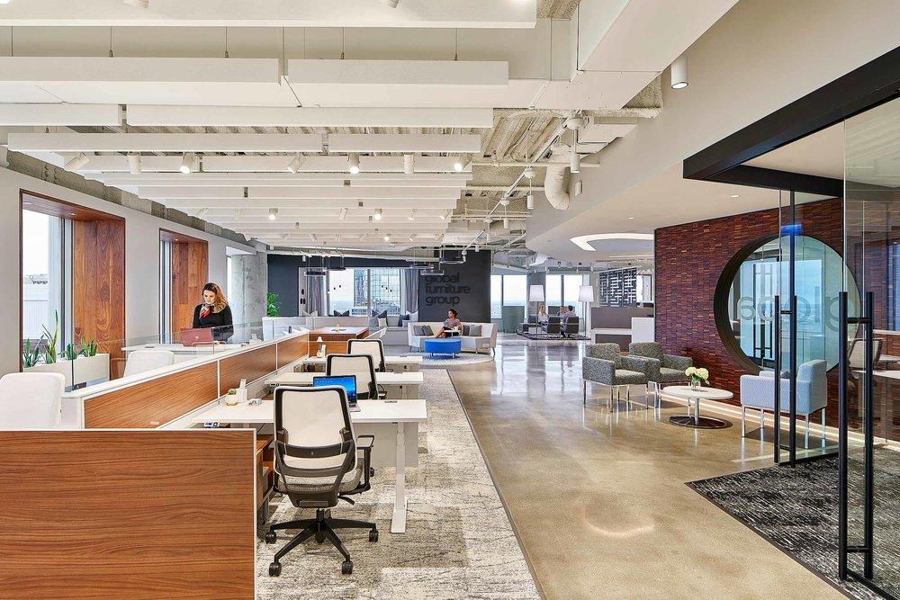 Global Furniture Showroom Meyer Design Philadelphia, PA