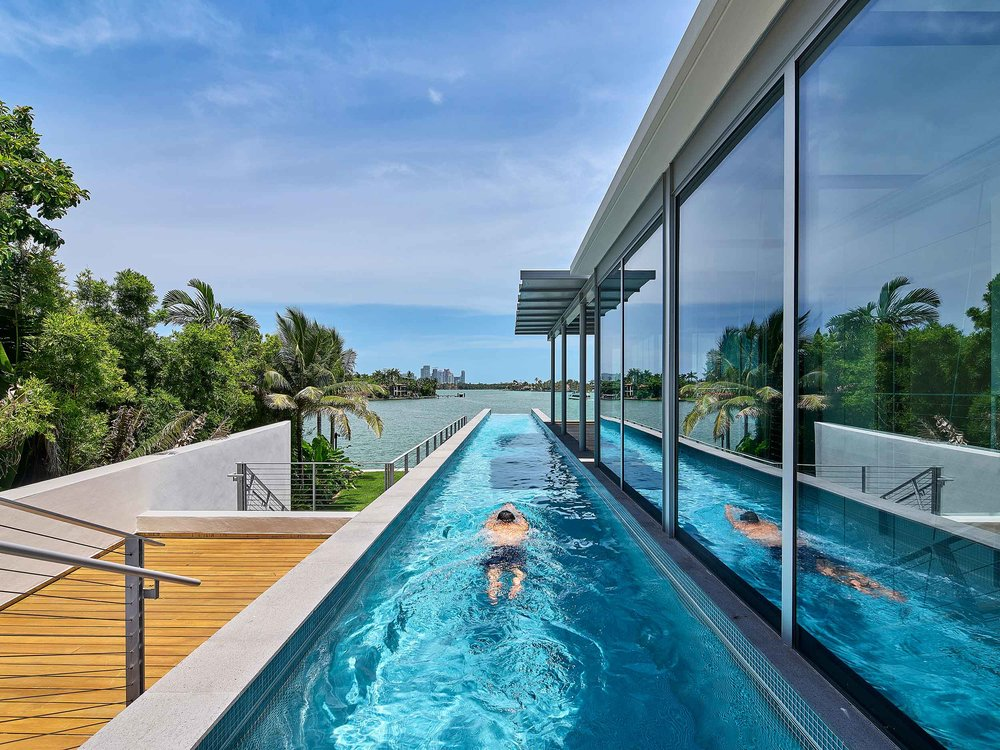 Private Residence Bohlin Cynwinski Jackson Miami Beach, FL See More in  Residential