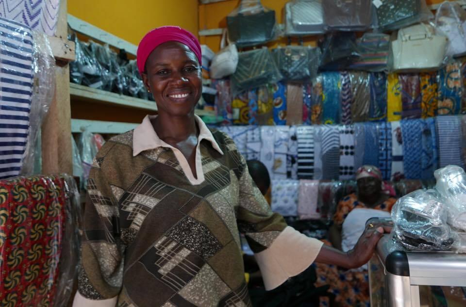 Victoria Saaka, the Old Market, Tamale