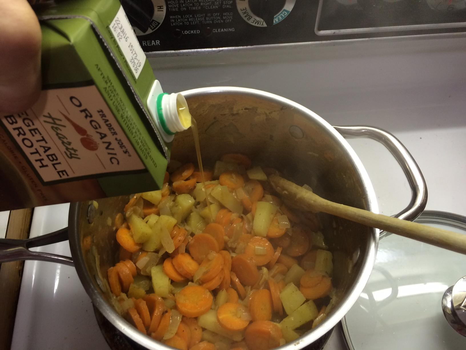 Carrot Soup 4
