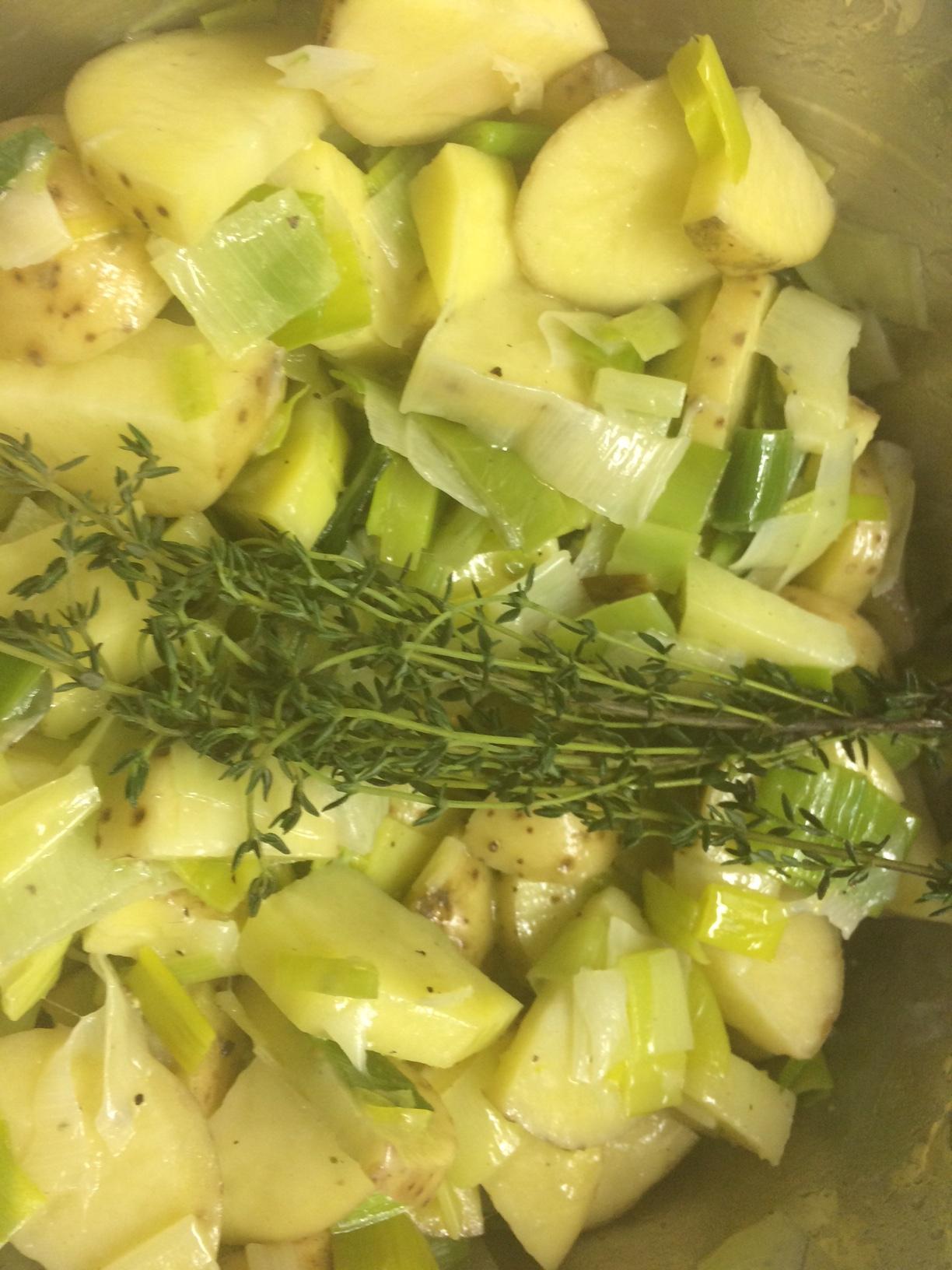Potato Leek Soup 4
