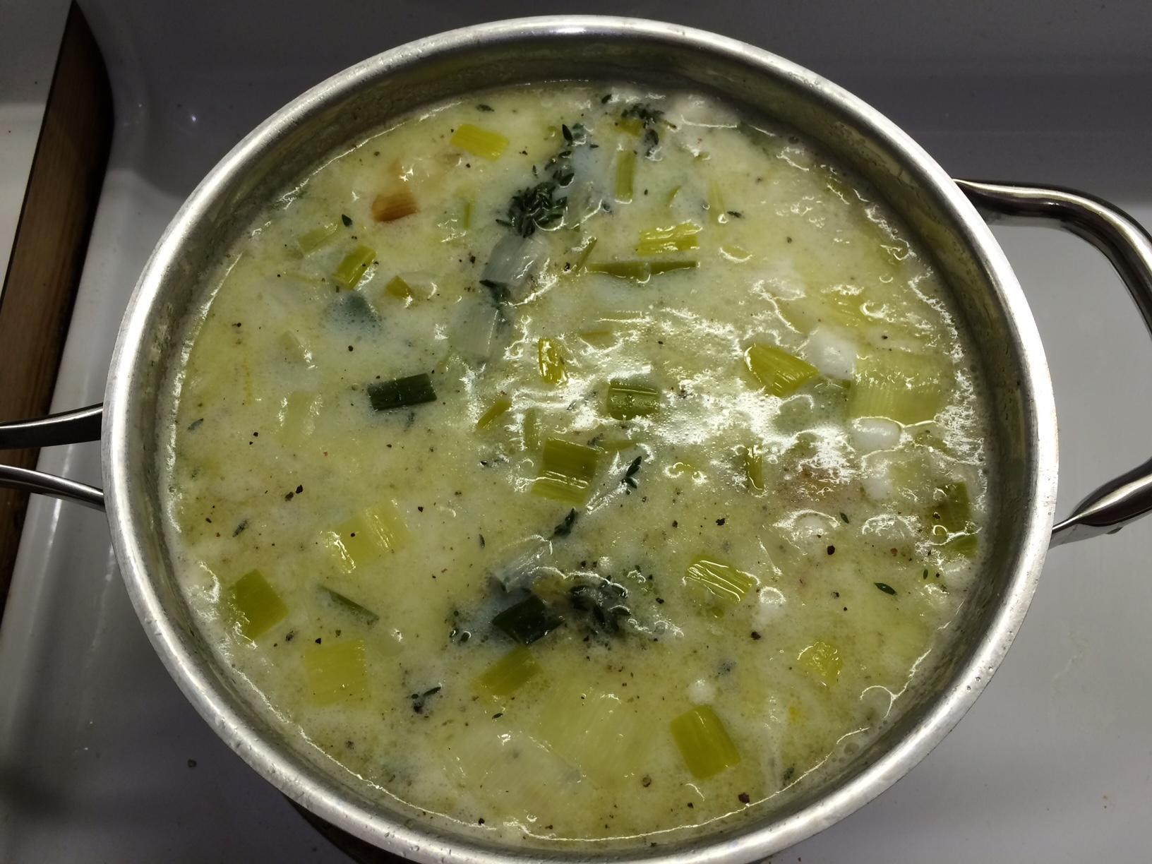Potato Leek Soup 5