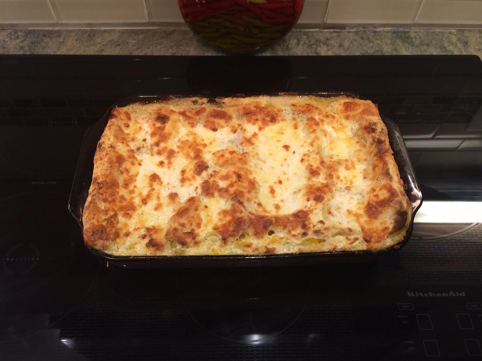 Pumpkin Lasagna 3