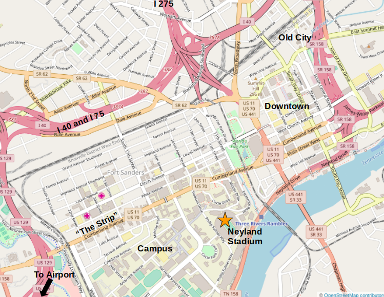 Courtesy of   www.openstreetmap.org/copyright