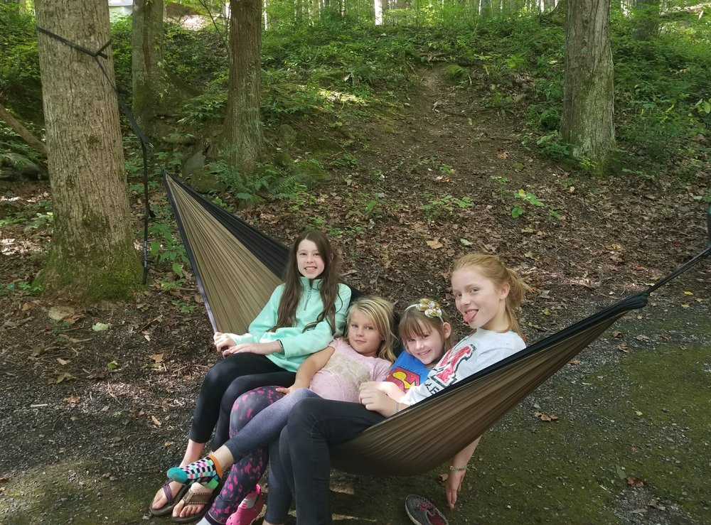 How many kids can have fun in one ENO? 4 apparently.