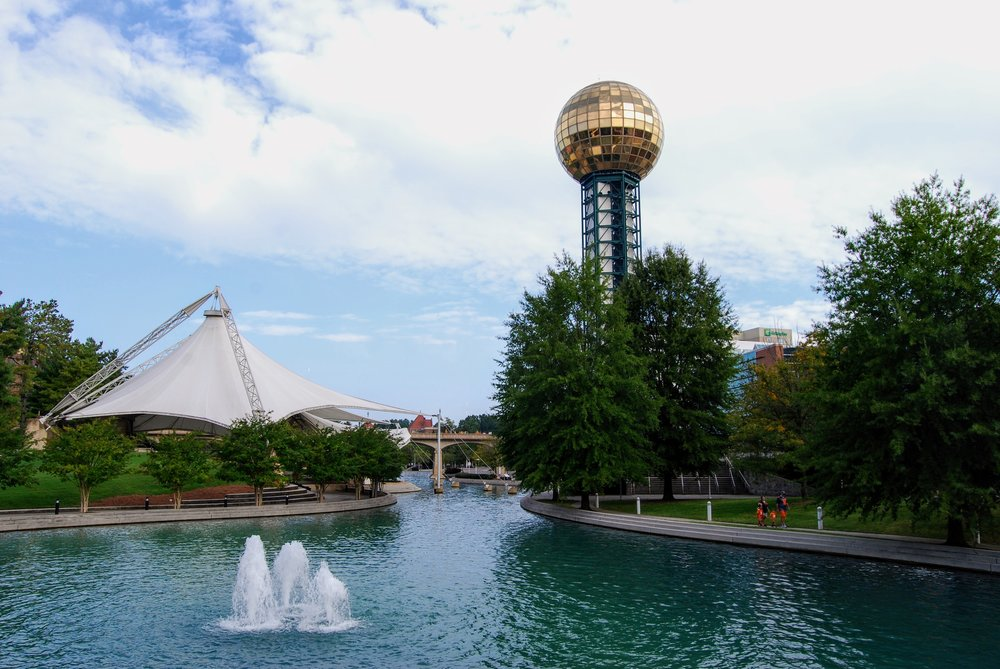 Sunsphere and the World's Fair Park