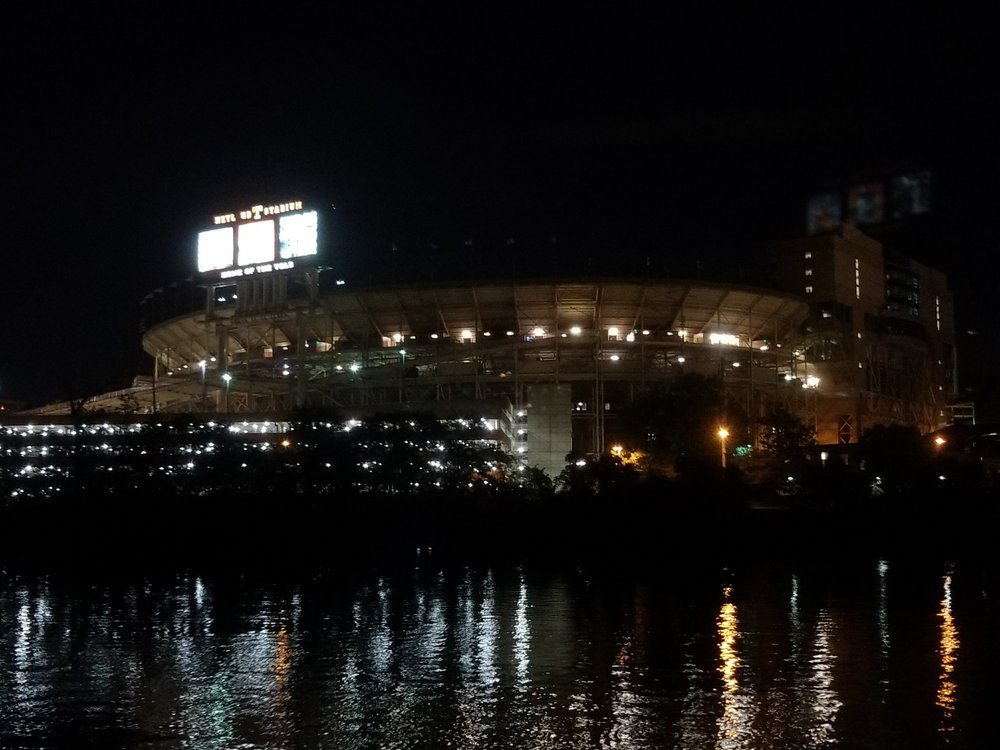 paddling past Neyland Stadium