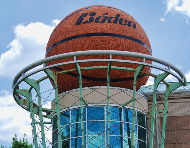 World's Largest Basketball