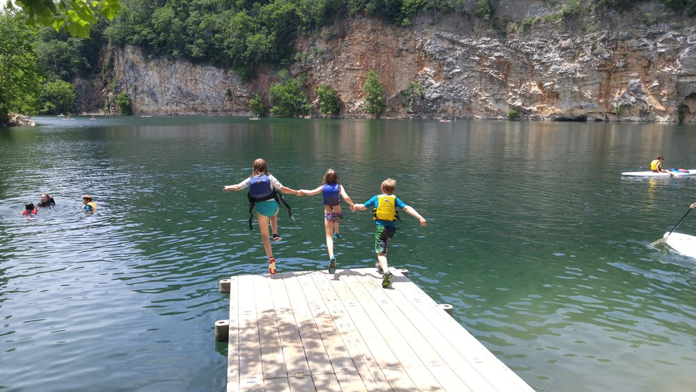 Summer fun at Mead's Quarry