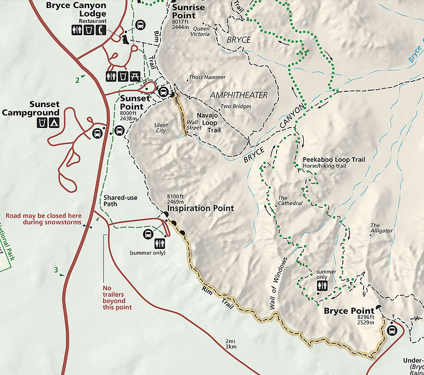 Map  courtesy of the NPS
