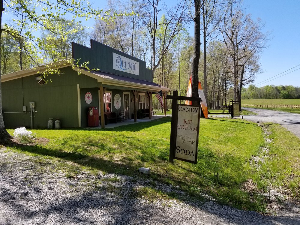 General store at Old Mill Camp