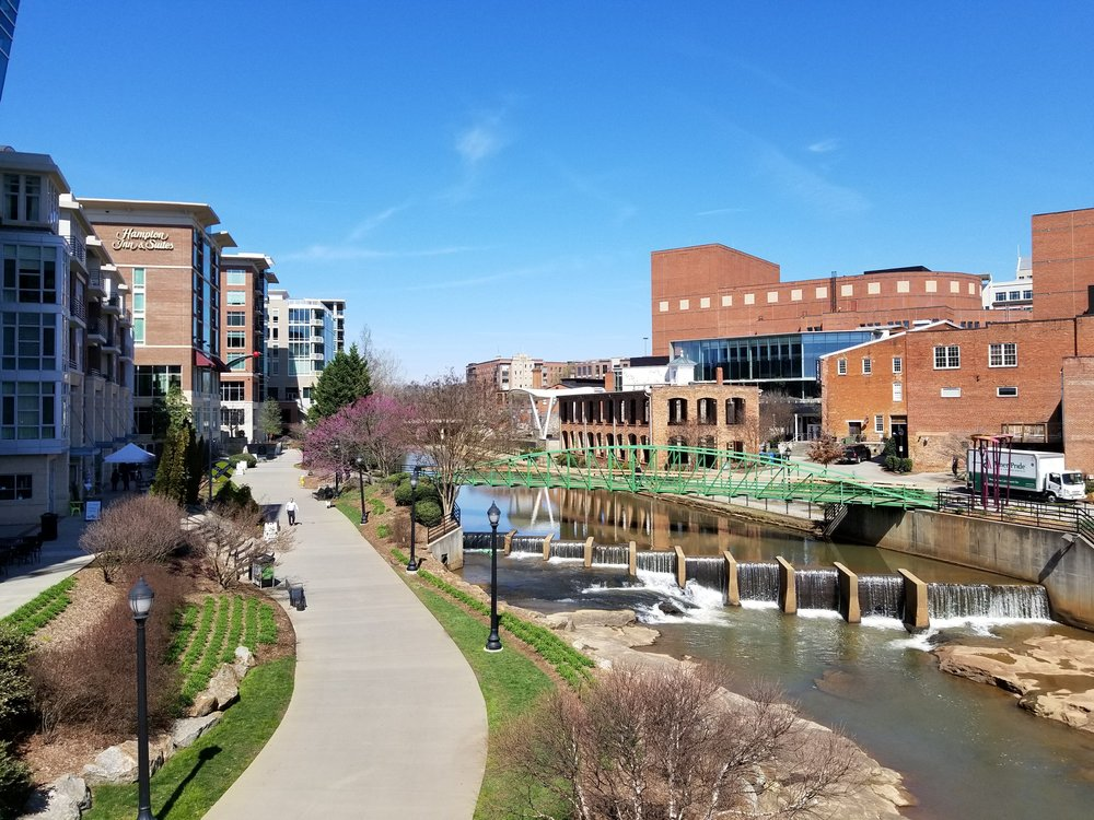 Downtown Riverfront in Greenville