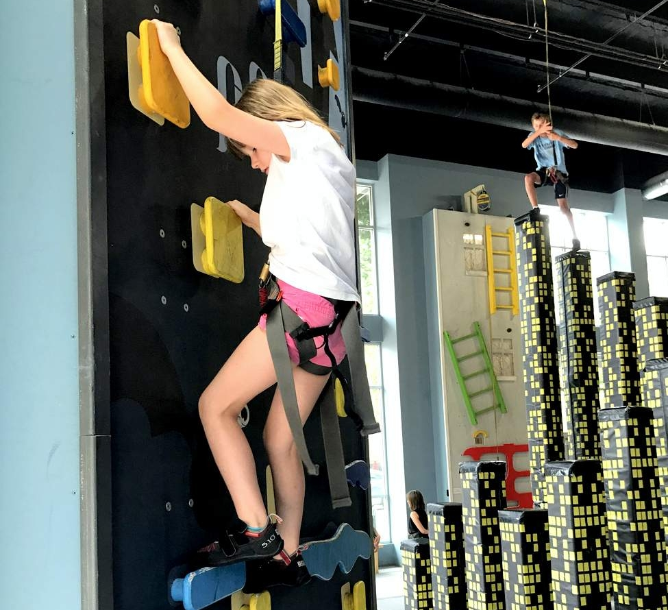 High Point Climbing Wall