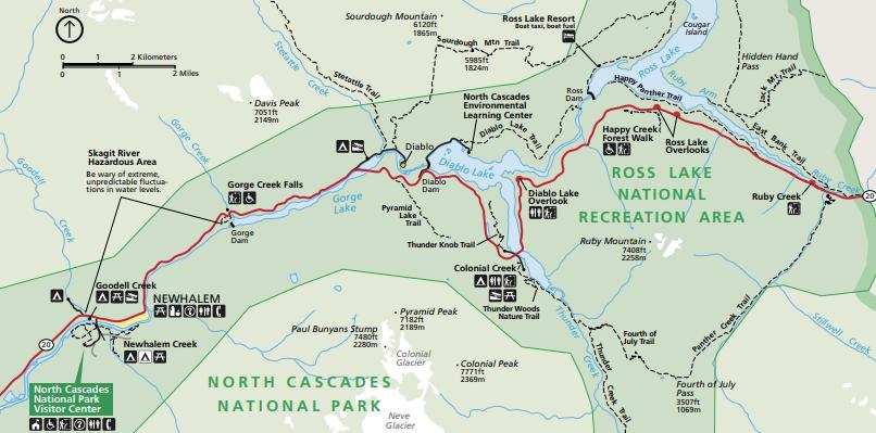Map courtesy of NPS