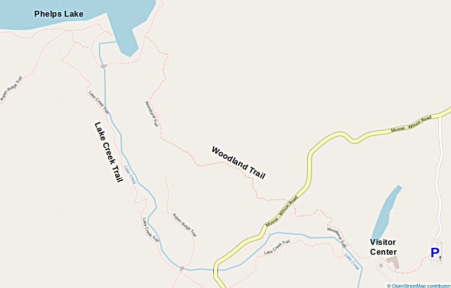 Map courtesy of  OpenStreetMaps