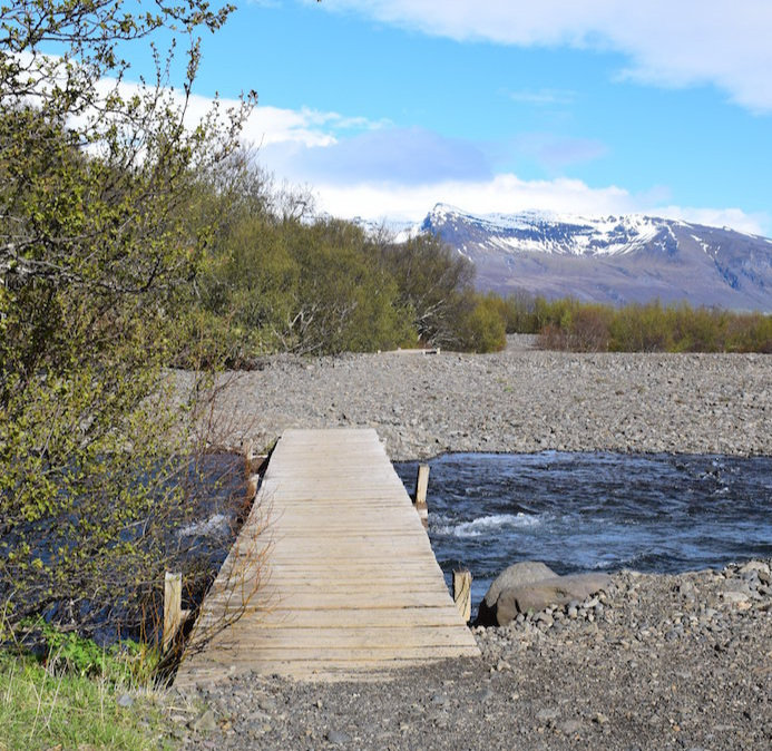Footbridges on your way back