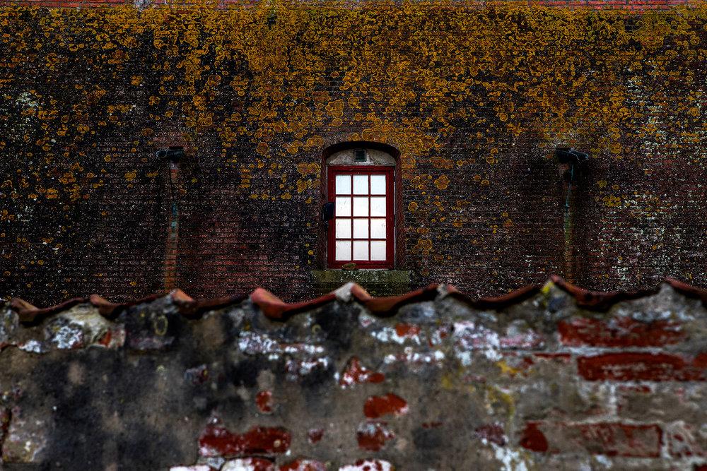Window at Kronborg,Hamlet's castle. Helsingør, Denmark. 2017