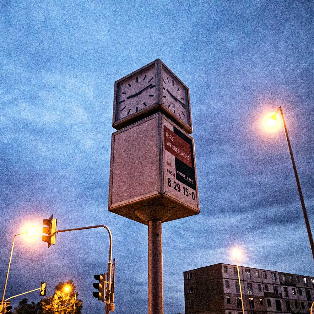 Parking Lot Clock.