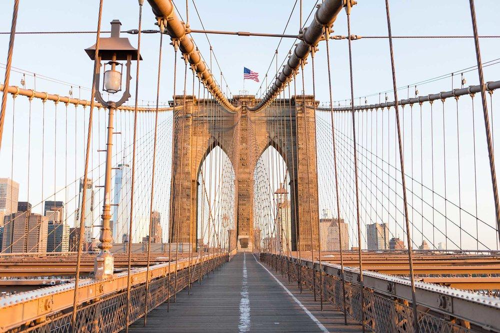 Brooklyn Bridge, Brooklyn. New York. 2017