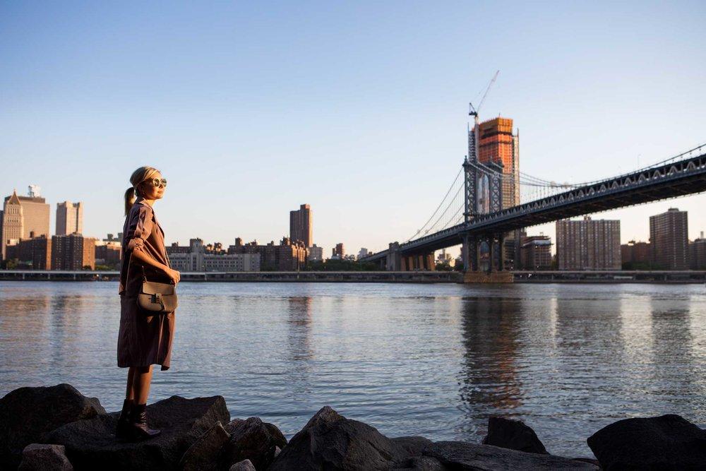Laurie Ferraro.Brooklyn Bridge Park.Brooklyn, New York. 2017