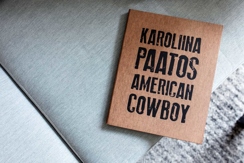 Coffee & A Photo Book - Karoliina Paatos' American Cowboy