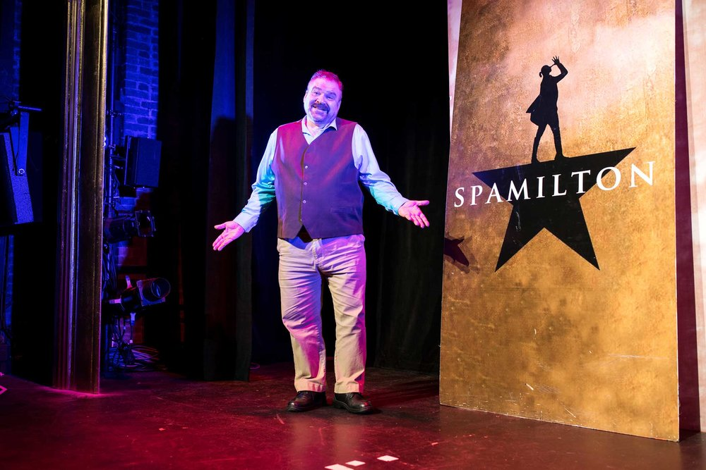 "Gerard Alessandrini, the creator and director of ""Spamilton."""