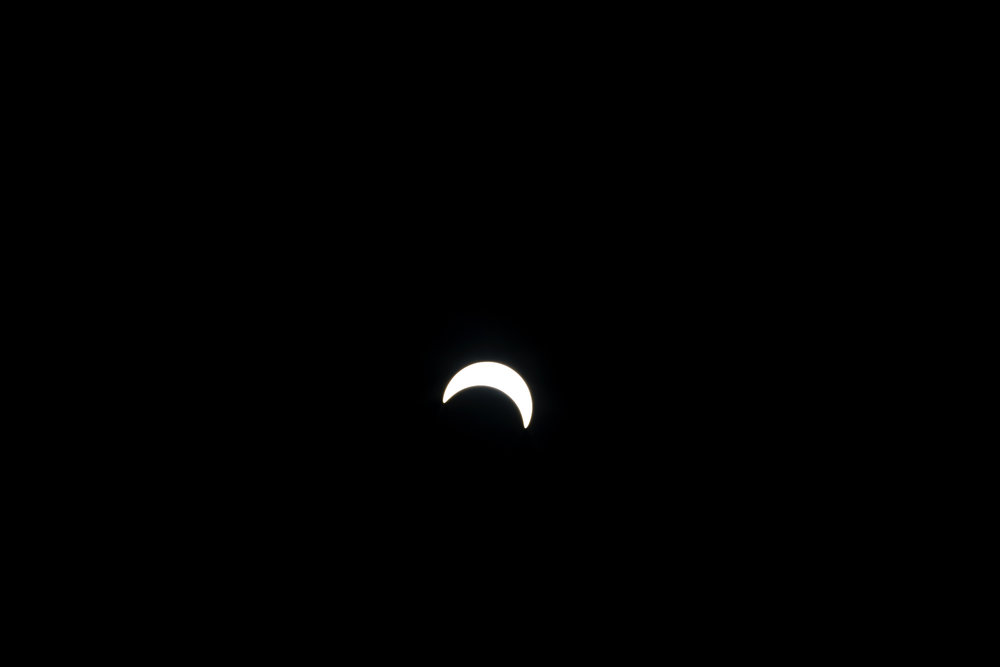 Solar Eclipse Brooklyn, New York. 2017