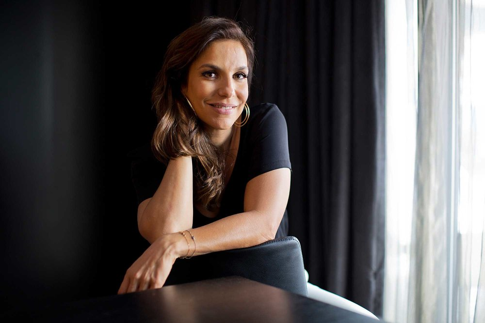 Ivete Sangalo  photographed in New York City. She talked about her desire to cross over, as well as what it is that makes her music so appealing to the Brazilian mainstream.  Story can be found  Here
