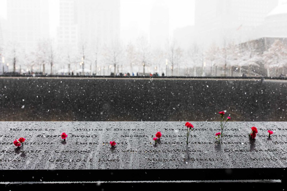 World Trade Center Memorial. Manhattan, New York. 2017