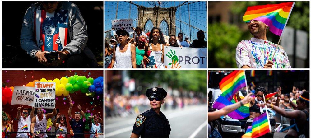 NYC Pride Parade 2018. Manhattan, New York.