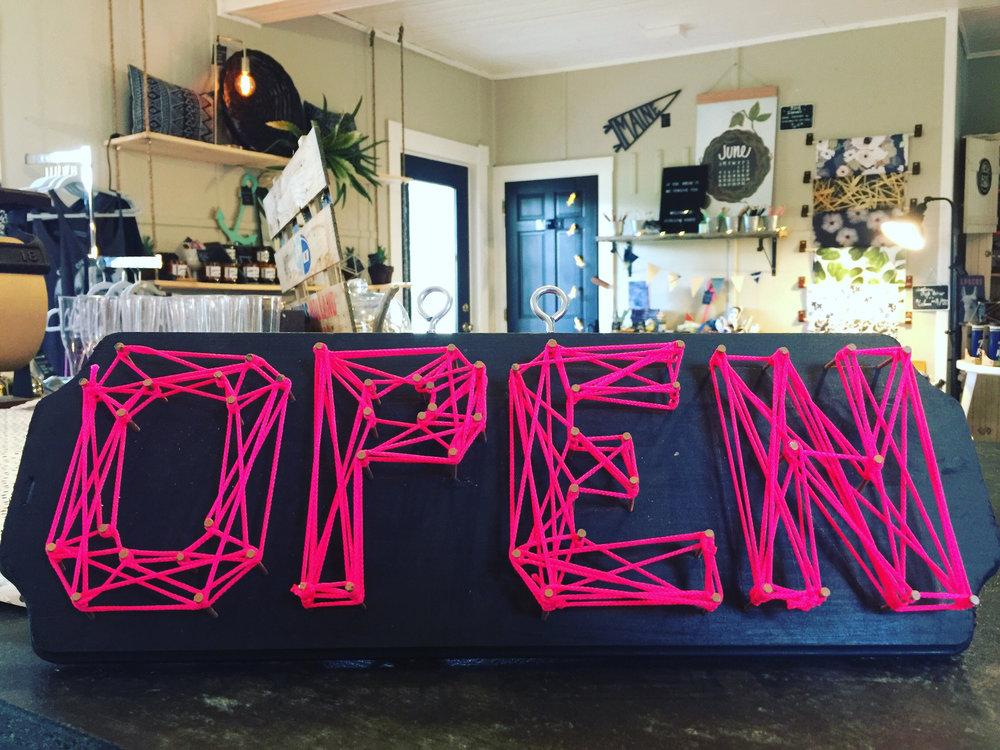 Open. Open. Open.