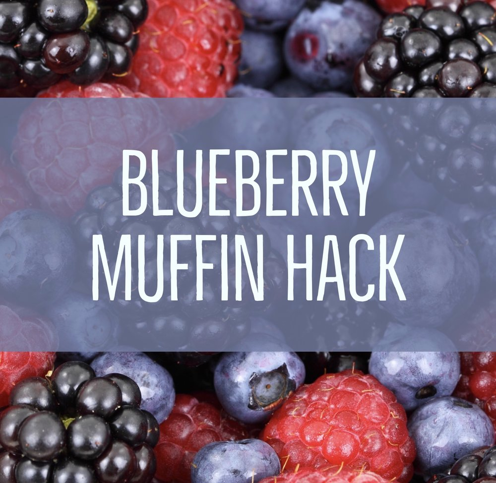 blueberry muffin hack