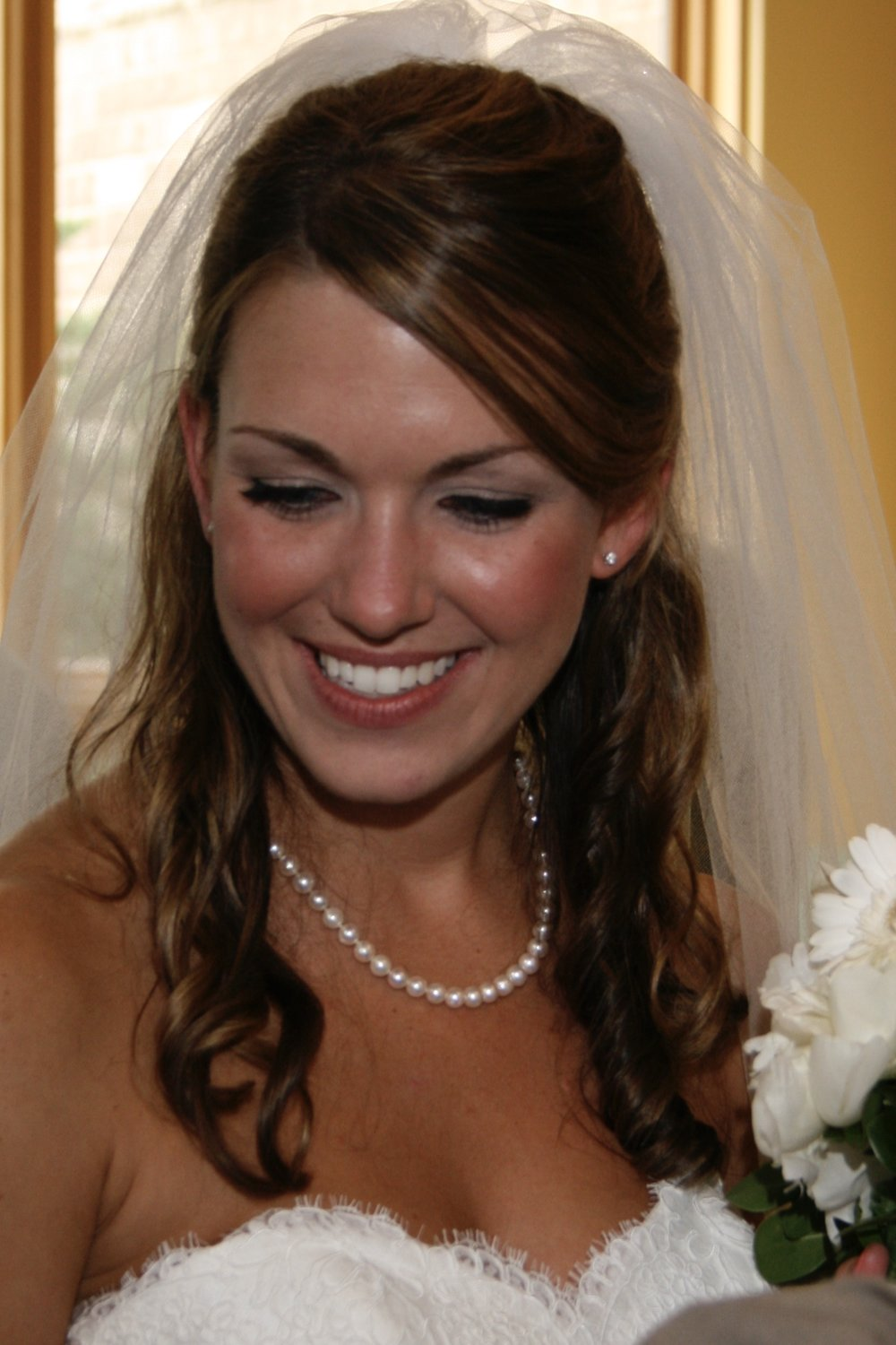 Wedding day eyeliner