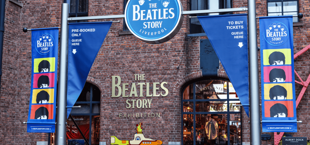 The Beatles Story - Combine your Beatles tour with a visit to the award-winning Beatles Story, the world's largest permanent exhibition purely devoted to the lives and times of the Fab Four. Ask our drivers for more information.