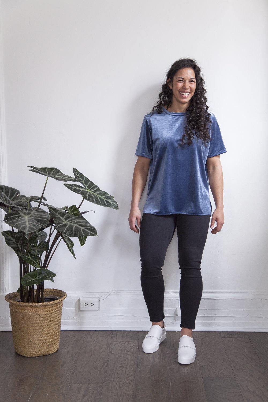Catherine Medeiros - athlète de bobsleigh
