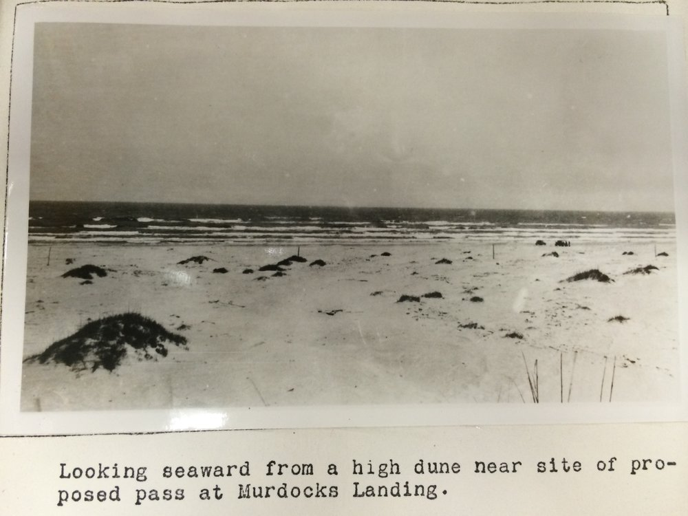 Beach picture, 1938, Present mile 17.