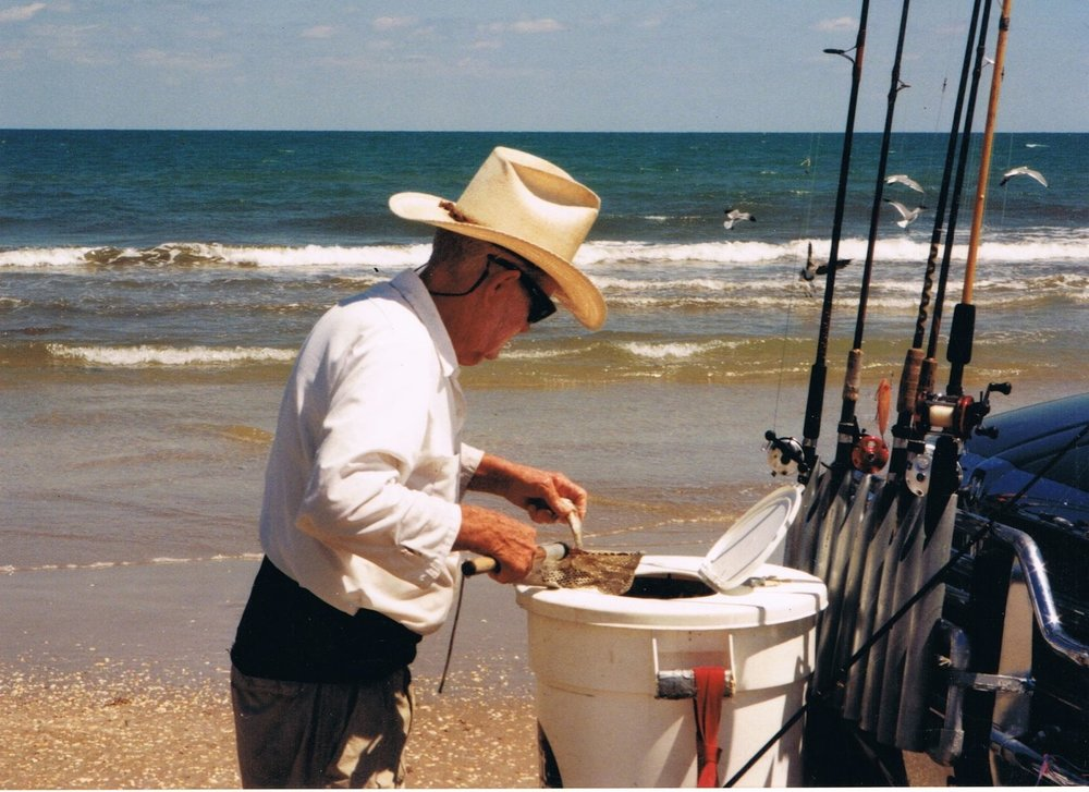 Ralph Wade, started fishing Padre in 1961 and continued until his passing in 2016.