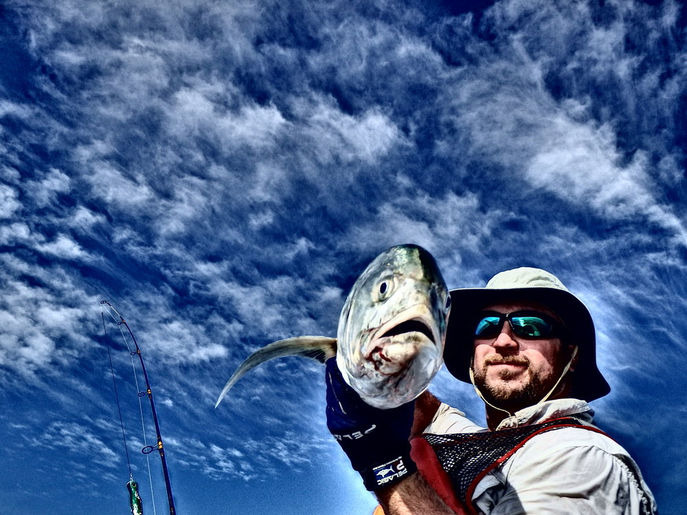 Jack Crevalle on favorite lure