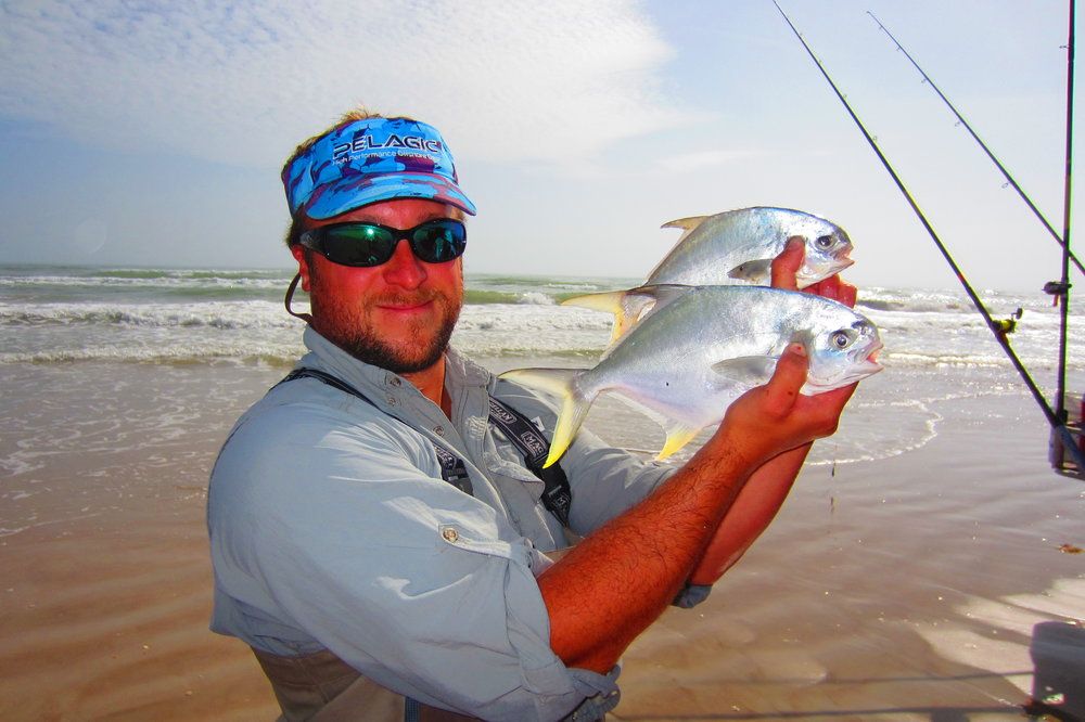 January Pompano Fishing