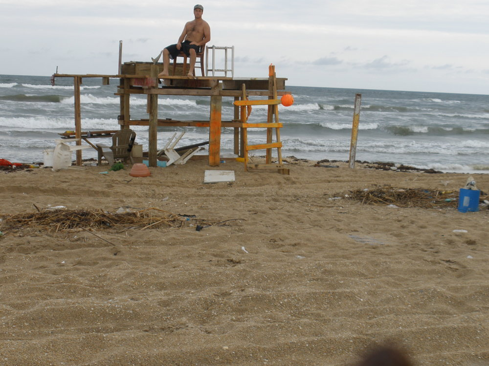 Post Sharkathon debris