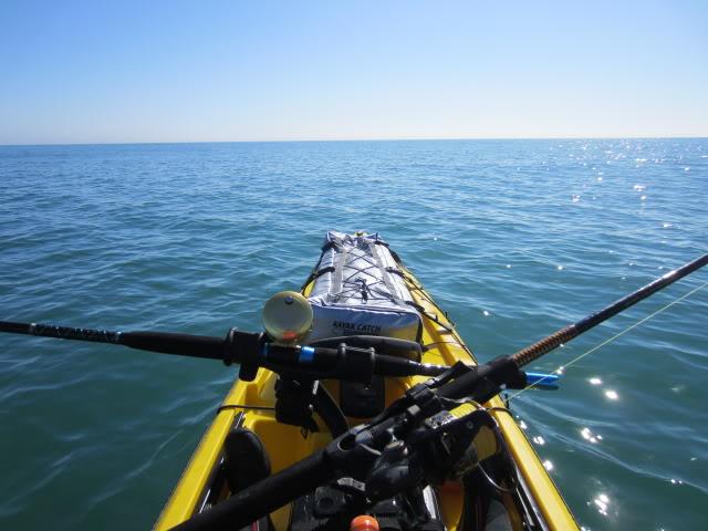 Shark trip during red tide remnants.Offshore kayak fishing the Espiritu de Santo wreck. Bluefish, Pompano, Redfish, Spanish Mackerel, Whiting, Bull Redfish. - Padre Island National Seashore