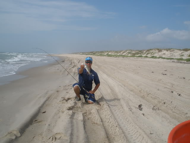 Daytrip for Trout, redfish, whiting.Tons of mullet in the surf. - Padre Island National Seashore