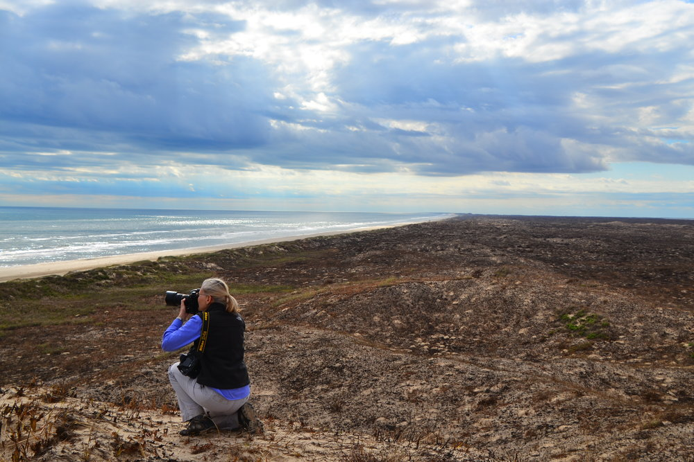 Shooting landscapes.
