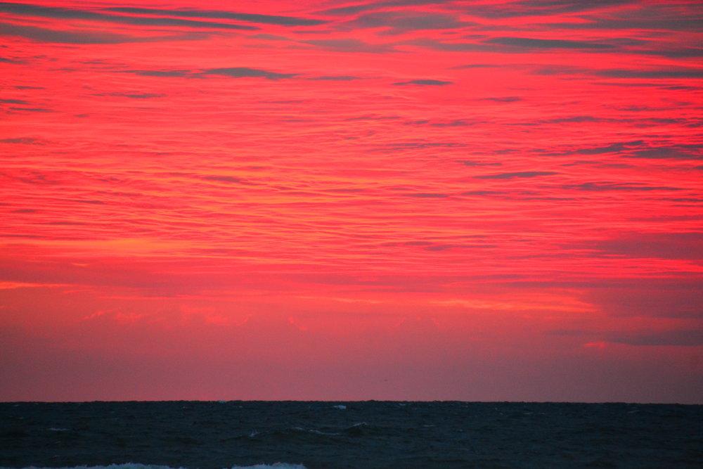 Sunrise on the National Seashore.