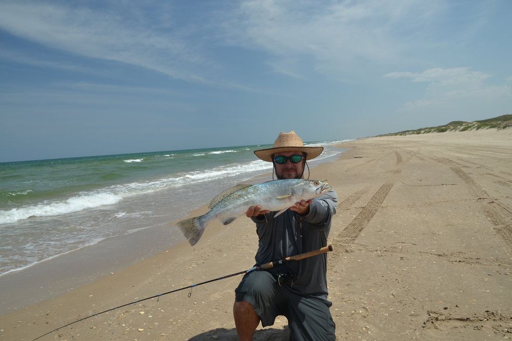 King Mackerel, Red Snapper, Surf trout - Padre Island National Seashore