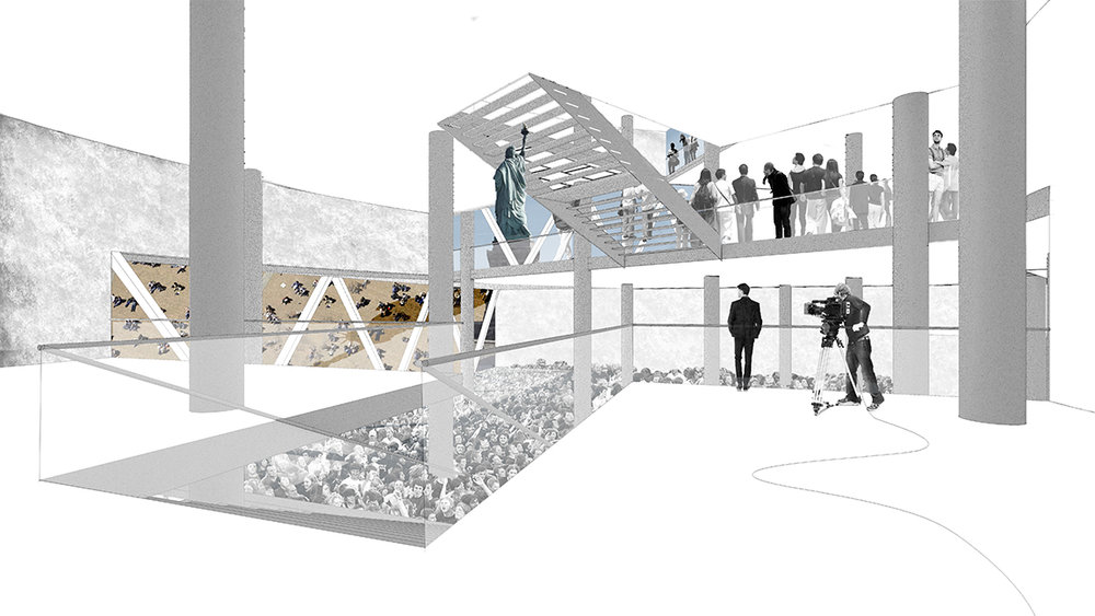 Liberty Museum   Archasm Int'l Competition: Liberty Museum, New York: Freedom To The People,Top 50 | 2016